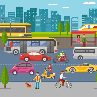 Commute Icon