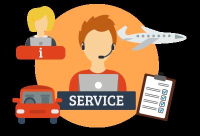 illustration for travel and reimbursements