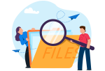 top navigation icon for document